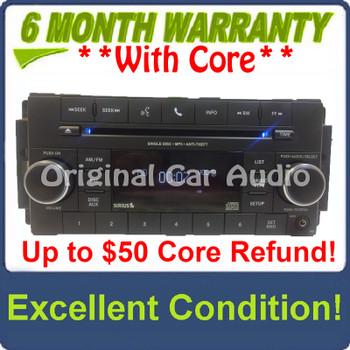 2007 - 2020 Chrysler Jeep Dodge OEM AM FM Radio CD Player Receiver RES