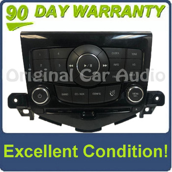 2011 - 2016 Chevy Cruze OEM Radio Contol Panel FACEPLATE ONLY