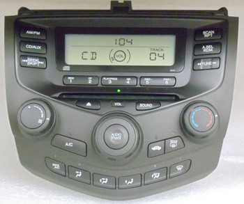 2003 2004 2005 2006 2007 Honda Accord Radio CD Player 2AA0