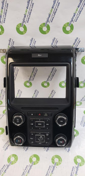 """2012 - 2014 FORD F150 8"""" Touch Screen Radio and Climate Control Panel FACEPLATE ONLY"""