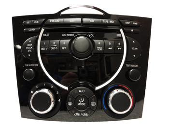 2004 - 2008 Mazda RX8 BOSE Radio Stereo Single CD Player w/ Climate Controls