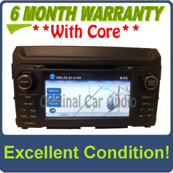 2016 - 2019 Nissan Titan XD OEM Touch Screen Navigation CD Multi Media AM FM Radio Receiver