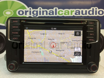 2016 Volkswagen OEM GPS Navigation Sat Bluetooth HD Radio with Apple CarPlay and Android Auto Ready BLEMISHED