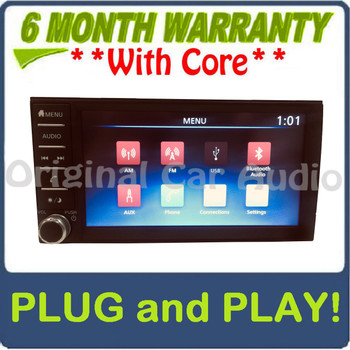 2018 - 2019 Nissan Frontier OEM Touch Screen AM FM Bluetooth AUX Radio Receiver