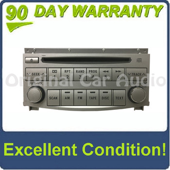 2005 - 2011 Toyota Avalon Single CD MP3 AM FM Radio 11805