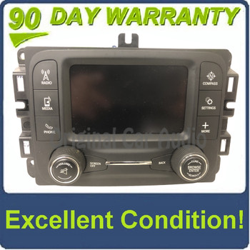 2015 Jeep Cherokee KL OEM VP2 RA2 Touch Screen Uconnect Bluetooth Radio Receiver VP2