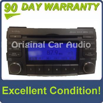 2009 - 2010 Hyundai Sonata Infinity 6 Disc Changer MP3 CD Player XM Radio Receiver