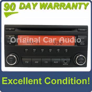 2013 - 2017 Nissan Quest OEM AUX AM FM Single CD Radio 28185 3WS0A
