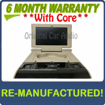 Remanufactured 2015 - 2018 Chevrolet Chevy GMC Cadillac OEM 3rd Row Rear Seat Entertainment DVD Display Monitor SHALE BLEMISHED