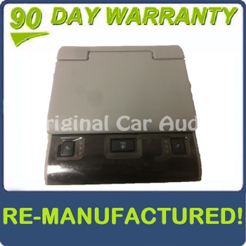 Remanufactured 2015 2016 2017 Chevy Cadillac GMC OEM Rear Entertainment Display Screen GRAY BLEMISHED