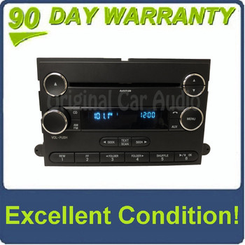 New 2009 - 2015 Ford F250 F350 Econoline OEM Single CD AM FM Radio Receiver