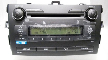 Toyota Corolla Radio MP3 CD Player 86120-02B00 2009-2011