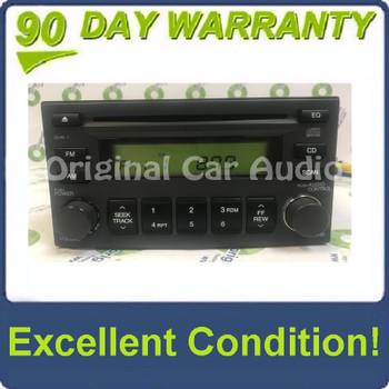 2005 - 2010 Hyundai Kia OEM AM FM Radio Stereo CD Player Receiver Gray
