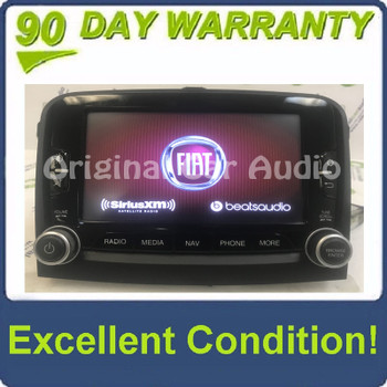2014 - 2016 Fiat 500 OEM Navigation AM FM Radio Media Player VP3 330 NA