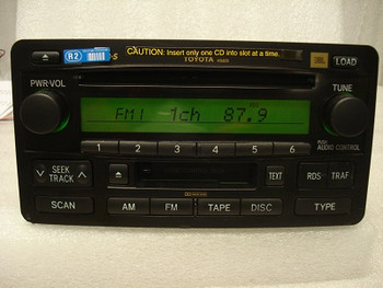 2003 2004 Toyota Tundra Sequoia Radio Tape 6 CD Player a56835 a56829