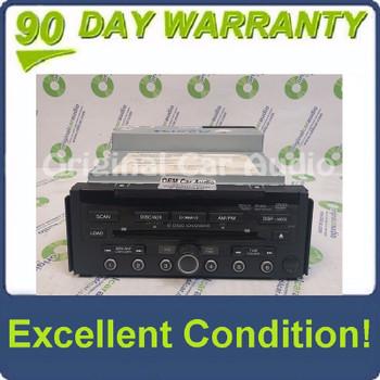 10 11 12 Acura RDX XM Radio DVD MP3 WMA 6 CD Disc Changer AUX 3PR2