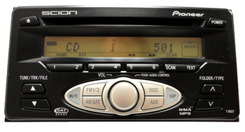 Scion XA XB Toyota Echo Highlander Radio CD MP3 08600-21800 2000-2006