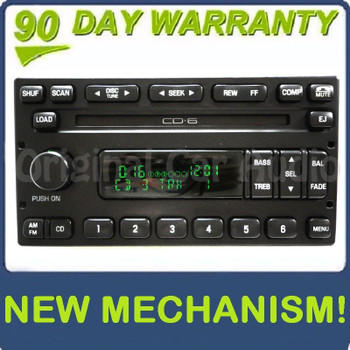 REMAN 1998 - 2005 Mercury Lincoln Ford OEM AM FM Radio 6 CD Changer Stereo Receiver