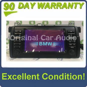 Remanufactured 2001 - 2005 BMW OEM Radio GPS Navigation System LCD Display Screen