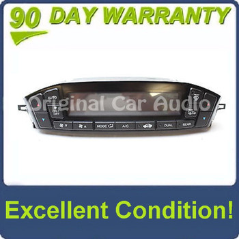 2010 - 2013 ACURA MDX OEM Front Temperature Climate Control Display