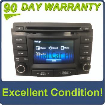 2014 - 2015 Hyundai Sonata OEM Single CD Bluetooth Sat Radio Multi Media Receiver