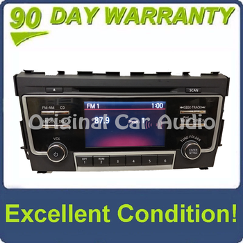 2017 2018 Nissan ALTIMA OEM NissanConnect AM FM iPod Radio CD Player