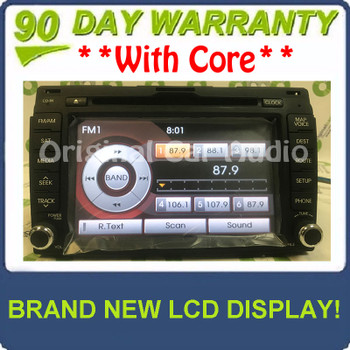 Reman 2010 - 2013 Kia Sportage OEM Navigation AM FM XM Radio CD Player Receiver