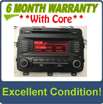 2014 - 2016 Kia Optima OEM SAT Bluetooth AM FM Radio Receiver