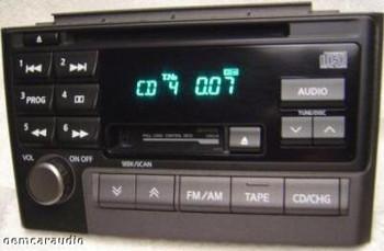 Nissan Maxima Radio Tape CD Player PN2280D NON-BOSE 2000-2003