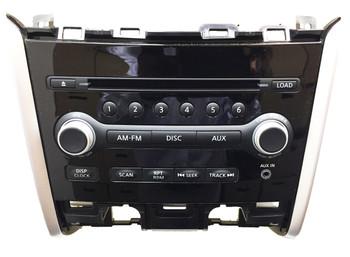 2013 2014 NISSAN Pathfinder OEM Standard Radio AUX AM FM 6 Disc Changer CD Player 28185 3KA1A