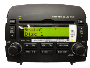 2006 - 2008 HYUNDAI Sonata XM Satellite Radio Stereo 6 Disc Changer CD MP3 Player OEM