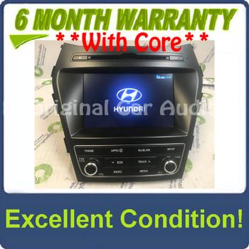 2017 - 2019 Hyundai Santa Fe OEM Bluelink HD Radio XM AM FM CD Player