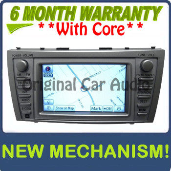 Remanufactured 2010 2011 10 11 TOYOTA Camry OEM JBL Navigation GPS System Radio Stereo 4 Disc Changer CD Player E7024