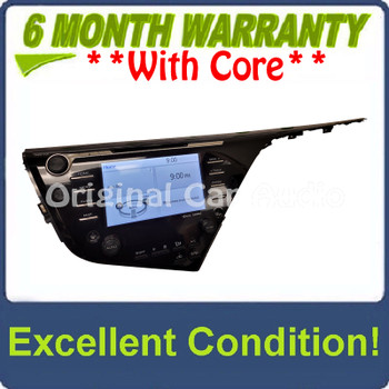 2018 - 2020 Toyota Camry OEM Navigation Touchscreen Display Gracenote Entune AM FM HD Radio