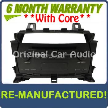 Remanufactured 2015 - 2017 Lexus NX200T NX300H OEM Gracenote Navigation Mulitmedia XM HD Radio CD Receiver