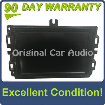 """2017 - 2019 Jeep Compass OEM 7"""" Touchscreen AM FM Uconnect Radio Receiver VP2"""
