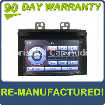 Remanufactured 2011 - 2013 Kia Optima OEM Navigation Touch Screen Display Radio Receiver - BLACK