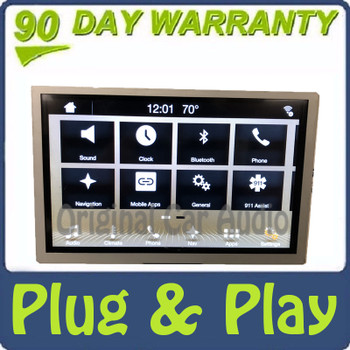 """2016 Ford F150 OEM Sync 3 8"""" Radio Touch Screen Display Panel Blemished"""