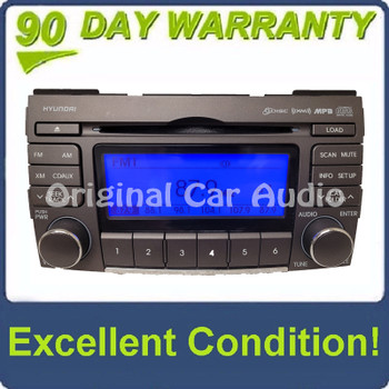 2007 - 2010 Hyundai Sonata OEM AM FM XM Radio 6 Disc Changer Player