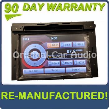 Remanufactured 2011 - 2013 Kia Optima OEM Touch Screen Navigation Radio Media Receiver GREY