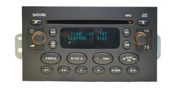 Saturn Ion Vue AM FM CD player MP3 01 02 03 04 05
