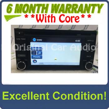 2015 - 2016 Frontier Xterra OEM AM FM Radio CD Player Receiver