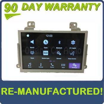 """Remanufactured 2013 - 2017 Ford Taurus OEM Sync 3 8"""" Radio Touch Screen Display Monitor"""