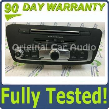 Blemished 2015 - 2016 Audi Q3 Quattro OEM Navigation Multimedia AM FM Radio SD Sim Card CD Player