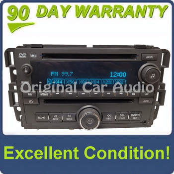 2010 - 2013 GMC Chevrolet Sierra Silverado OEM AM FM CD DVD Radio Player