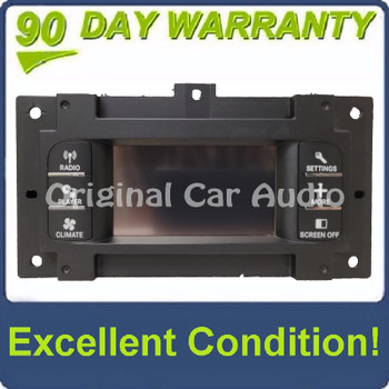 """2011- 2014 Dodge Charger AM FM Radio Climate Conrtrol Information 4"""" Display Screen"""