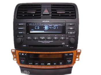 2004 2005 Acura TSX OEM Premium Sound Radio AUX & 6 Disc Changer CD Player 7EB0 FACEPLATE ONLY