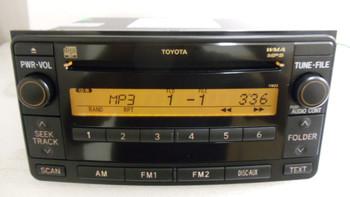 2008 - 2009 Toyota 4Runner Yaris CD Radio MP3