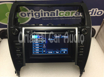 12 13 Toyota CAMRY Touch Screen Display LCD Radio MP3 XM CD Changer Player 57013 with new screen replacement