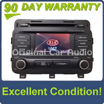 2014 - 2016 Kia Optima OEM UVO AM FM XM HD Radio Infinity Sound CD Player